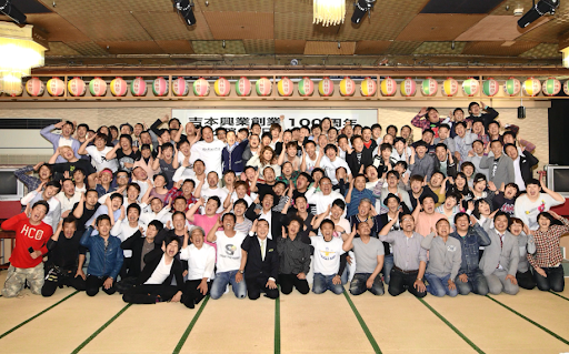 Yoshimoto talents all gathered for their 100 years anniversary